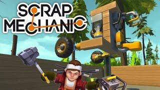 This Thing Needs Airbags! - Scrap Mechanic Gameplay [Ep. 2]