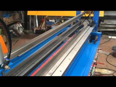 PVC sheet bending machine