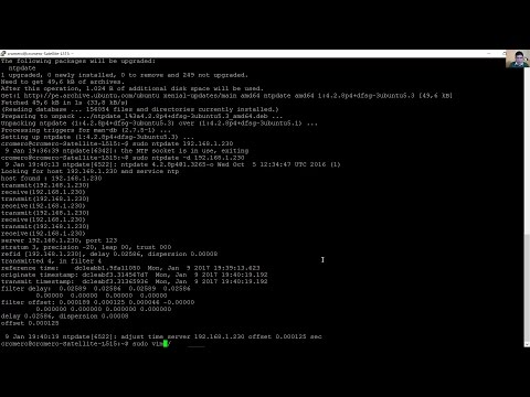 Install, Configure NTP Server on Ubuntu 16.04 LTS and Setup Clients