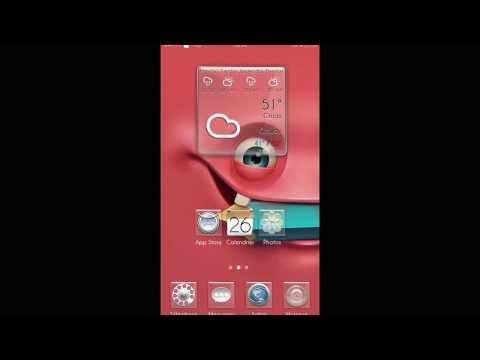 Widget #Clock & #Weather #Original