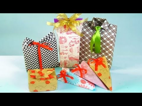 Diy | packing ideas | shirt packing ideas | shirt wrapping | shirt style gift wrapping