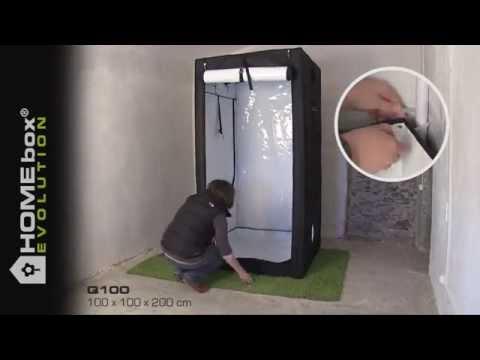 New HOMEbox Evolution Q100 PAR-Optimized Grow Tent