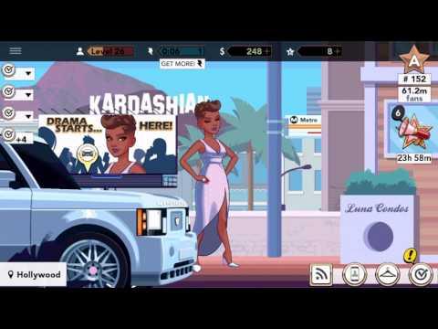 Kim Kardashian Hollywood Gameplay Tutorial:  Buying a car !