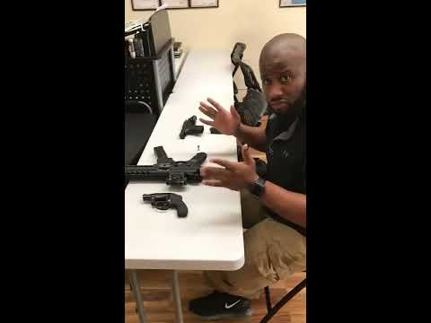 Gun Control Experiment - By Instructor Mike