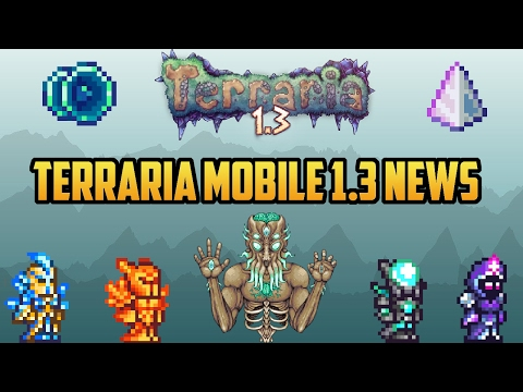 Terraria Mobile 1.3 News!!! | Everything we know (Android/ios and Console) Release Date Confirmed!