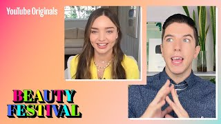 YouTube #BeautyFest with Miranda Kerr!
