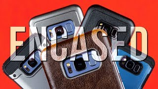 Encased Products Samsung S8 Cases - First Look - The best Samsung BELT HOLSTERS?!
