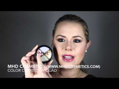 MHD Cosmetics - Color Corrector Quad