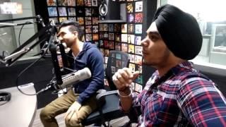 PREET HARPAL & KUWAR VIRK - KANGNA (SONG INTERVIEW) @104.8 OYE FM BY RAAJ JONES
