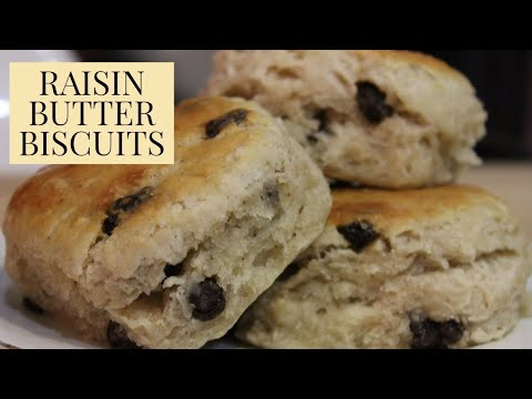 How To Make: Martin's Mama's Raisin Butter Biscuit Recipe
