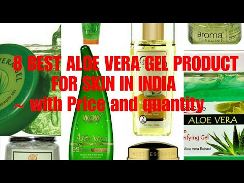 8 Best Aloe Vera Gel for Skin in India || with Price and Quantity || Aloe Vera Gel for Pimples ||