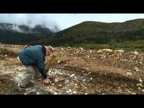 Brent Cook evaluates gold properties in the Yukon