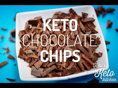 Keto Chocolate Chips : Make Your Own Low Carb Chocolate Chunks (EASY!)