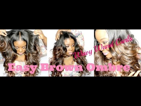 Chocolate Brown Easy OMBRE ♥