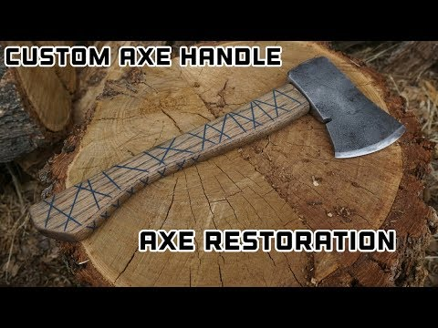 Custom Axe Handle - Ax Head Restoration