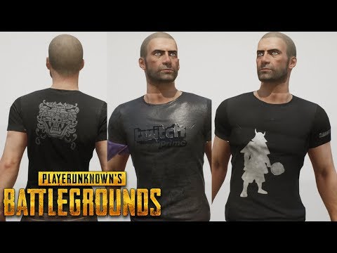 [PUBG] - All Exclusive Clothes Showcase