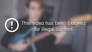 Playing Basslines on a GUITAR.. (ILLEGAL FOOTAGE)