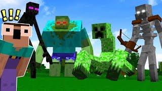 KILLING THE UNKILLABLE MINECRAFT BOSS!! (Hardest Minecraft Boss Ever