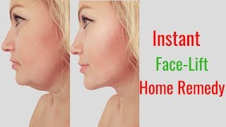 Instant Face-Lift Home Remedy - Beauty Within