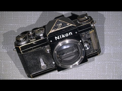 How to take the winding gear out of Nikon F, film advance gear