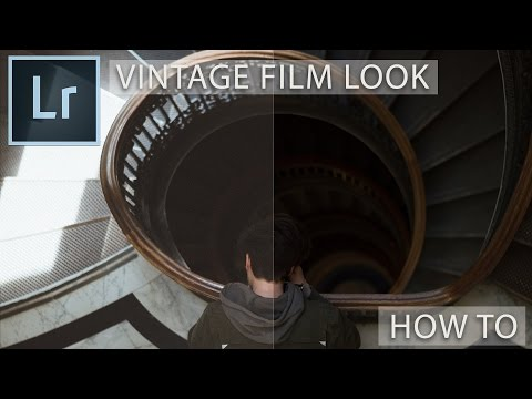 Lightroom How To: Vintage VSCO Film Look Edit
