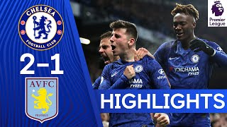 Chelsea 2-1 Aston Villa | Mount's Stellar Volley & Abraham's Return Bring Home the Win! | Highlights