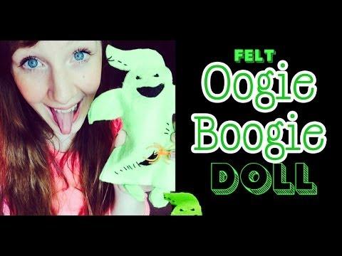 Halloween Craft: Felt Boogie Monster ❤ OOgie bOOgie