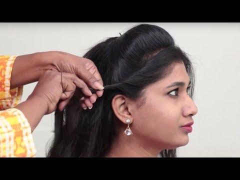 3 Simple hairstyles for Short hair || Pretty Bun Hairstyles For Short Hair | Hairstyle Tutorials