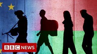 How Belarus is helping migrants break into the EU - BBC News