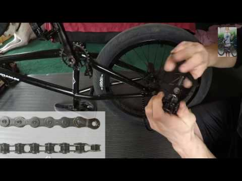 How to Install a Bmx Chain.  Tips for Sizing and Breaking a Bmx Chain
