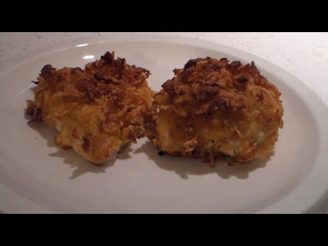 How to make Baked corn flakes chicken