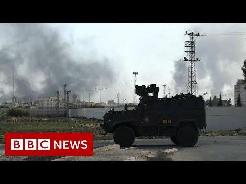 Xxx Mp4 Turkish Forces Clash With Kurdish Fighters In Syria BBC News 3gp Sex