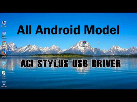How to Install ACI Stylus USB Driver for Windows | ADB and FastBoot