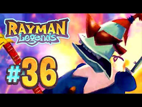 Rayman Legends - 36 - Living Dead Party: 8-bit Gloo Gloo, Dragon Slayer, Grannies World Tour
