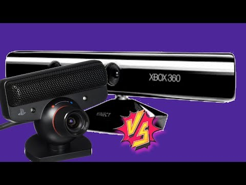PS3 Cam versus Xbox 360 Kinect Cam
