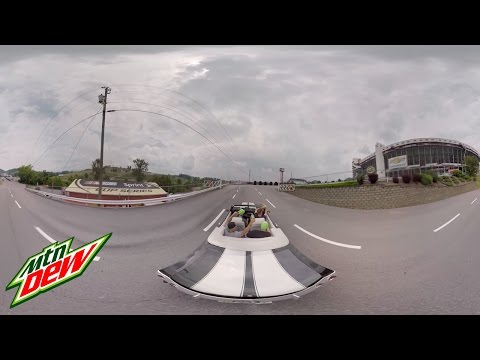 Dew VR Bristol with Dale Jr YT 360 | Mountain Dew