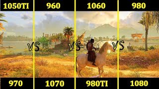 GTX 960 vs 1050TI vs 970 vs 1060 vs 980 vs 1070 vs 980TI vs 1080 | Comparison |