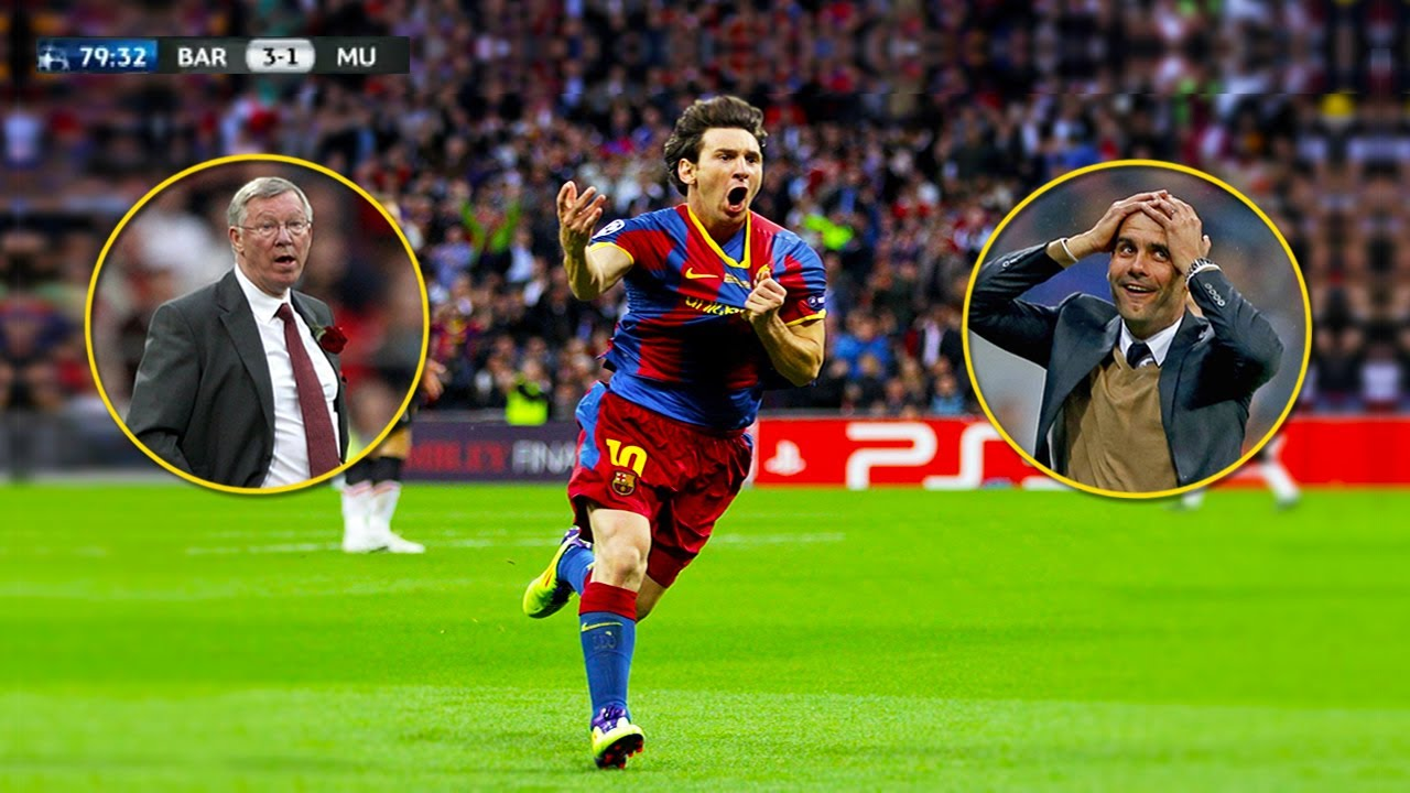 The Day Lionel Messi Impressed Pep Guardiola And Sir Alex Ferguson