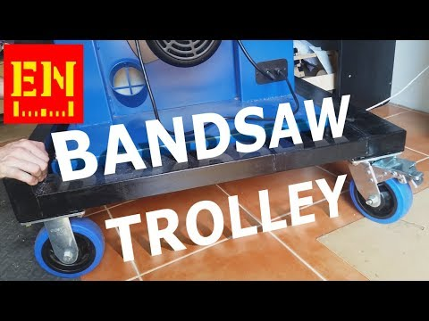Bandsaw Trolley - Does it fit out door?