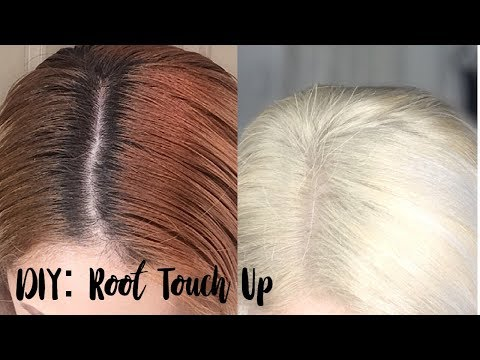 DIY: How to touch up roots for blonde hair | Wella T14