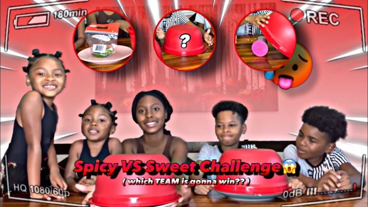 Spicy Vs Sweet Challenge 😱