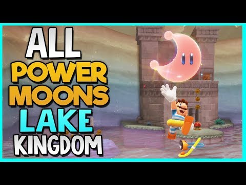 All Power Moon Locations in Lake Kingdom in Super Mario Odyssey