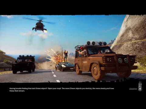 Just Cause 3 - Noob, Ranting Gameplay on the PC (Dec '15)