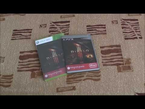 Распаковка Diablo 3 / Коллекционное Издание Diablo 3
