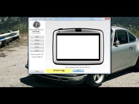 TomTom maps | Europe | Russia | Scandinavia | Car,Truck,Camper,Caravan | 2017