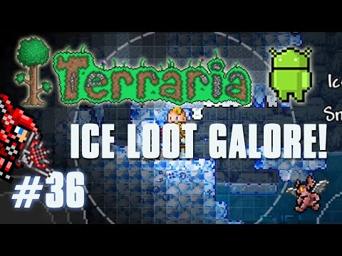 Terraria Android Edition Let's Play - Ice Loot Galore! [36]