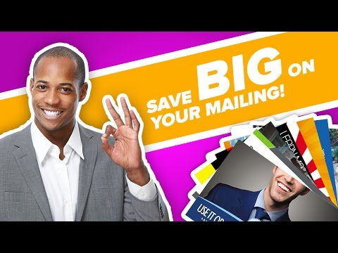 How to Save Money on Postage for Direct Mail? Bulk Mail Discounts!