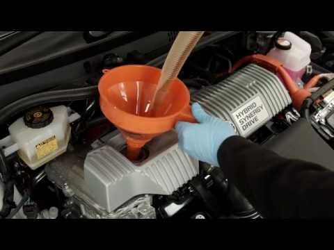 Toyota 'how to' - Check your oil