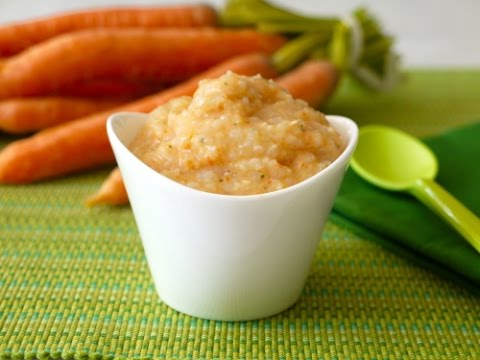 Spiced Carrot and Rice Puree - Baby Food Recipes - Weelicious