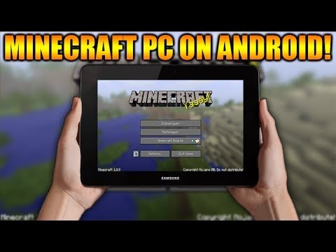 ▲HOW TO PLAY #MINECRAFT PC ON ANY ANDROID TABLET OR PHONE TUTORIAL! DOWNLOAD LINK★